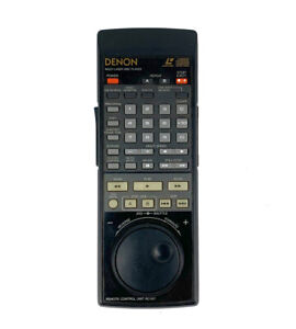 Original DENON RC-517 Remote Control with Jog Wheel OEM for LA-3100 LD Player