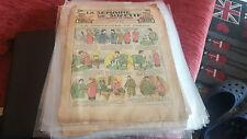 LA SEMAINE DE SUZETTES 24 NUMERO ANNEE' 1928/1929