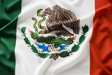 Mexican National Flags All Weather Polyester with Brass Grommets 3 X 5 Ft