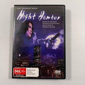 """Night Hunter (DVD 1996) Don """"The Dragon"""" Wilson Vampires Region 4"""