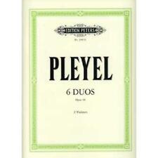 Pleyel Ignaz Joseph: 6 kleine Duos op.48 : für 2 Violinen Stimmen 1085B