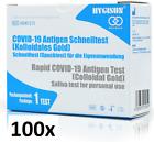 10 x Corona Schnelltest Hygisun Antigen Spucktest Selbsttest Laientest BfArM NEU