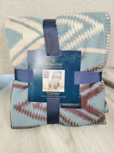Pendleton Home Collection Reversable Jacquard Classic Throw SunsetCross FASTSHIP