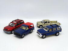 Various SB 1/43 - Lot : Nissan Patrol - Land Cruiser - Ford Explorer - Silverado