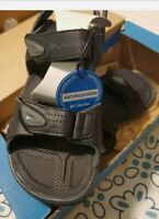 COLUMBIA Wayfinde 2 Strap Men's Hiking Sandals Size 7 Black Antimicrobial