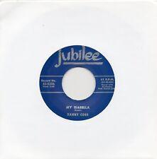 DANNY COBB    MY ISABELLA /A BRAND NEW DEAL  JUBILEE RI/Re-Pro  R&B/MOD/NORTHERN