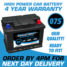 075 Car Van High Battery Sealed 12v 4 Year Warranty Next Day Del Fits Ford Fusion 2005