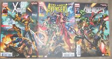UNCANNY AVENGERS 1 / THE AVENGERS 1 / X MEN 1 / MARVEL NOW TRIPTIK 2013+POSTERS