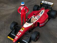 "F1 FERRARI F93A ""Marlboro"" Jean ALESI avec figurine debout, MINICHAMPS , 1/18"
