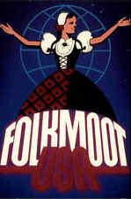 Folkmoot Amerika USA North Carolina AK ~1960/70 Folk Festival Tracht Folklore