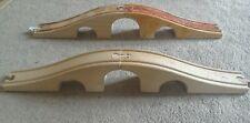2 Wooden track bridges train
