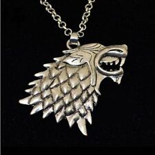 GAME OF THRONES STARK DIREWORLD wild Pendant Jewelry Necklace GOT * US SELLER