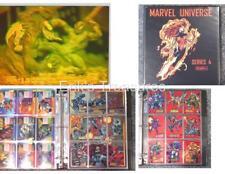 1993 Marvel Universe IV MASTER SET Base Red Foils Spider-Man Venom H-IV Hologram