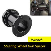 Universal 4 INCH Aluminum Spacer For Steering Wheel Hub Adapter Boss Kit Black