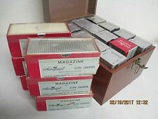 18 Airequipt Argus Photo Slide Changers with Metal Carrying Case for 12