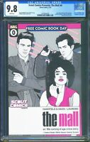 The Mall 0 (Scout) CGC 9.8 White Pages FCBD Print, only 9.8 in CGC Census