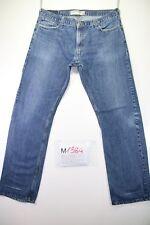 Levi's 514 Slim Straight (Cod. M1384) tg50 W36 L34 jeans usato vintage ORIGINALE