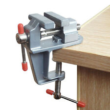 MINI REPAIR TOOL TABLE BENCH VISE 3.5 WORK BENCH CLAMP SWIVEL VICE HOBBY CRAFT