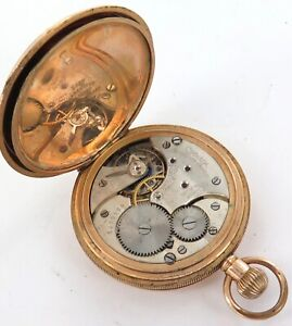 c1926 OMEGA 15J 16S 2 ADJUSTS CAL. 406 MENS POCKET WATCH.