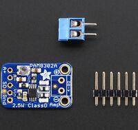 Adafruit Mono 2,5W Class D Audio-Verstärker mit Potentiometer, PAM8302, 2130