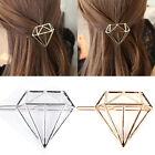 Fashion Women Hollow Diamond Shape Hair Clip Barrettes Hair Accessories