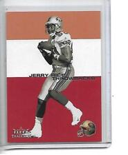 2001 JERRY RICE FLEER TRADITION THROWBACKS #11TB 49ERS