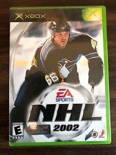XBOX NHL 2002 DVD GAME EA SPORTS