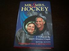 Mr. and Mrs. Hockey A Tribute Signed Gordie Howe First Edition Detroit Red Wings