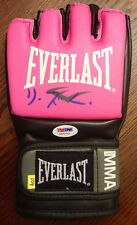 Liz Carmouche GIRLRILLA Signed Pink UFC EVERLAST GLOVE PSA DNA COA #1