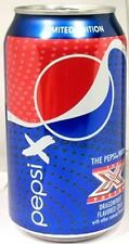 """FULL NEW 12oz American Can Pepsi """"X Factor"""" Dragonfruit Flavor 2012 Limited Ed."""
