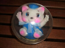 80'S VINTAGE BABY SOFT SOUNDS BALL TOY KITTEN