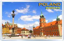 POLAND WARSAW FRIDGE MAGNET IMÁN NEVERA