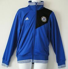 b9e30a870 Adidas CHELSEA FC ESS TRACK Football Soccer Sweat Shirt Jersey Jacket Top~Mens  S