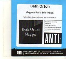 (DR745) Beth Orton, Magpie - 2012 DJ CD