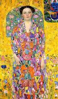 Dream-art Oil painting Gustav Klimt Portrait of Eugenia (Mada) Primavesi canvas