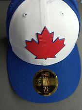 Toronto blue jays new era fitted hat size 7 1/4