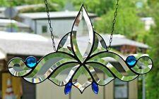 Bleiverglasung Bleiglas Facetten- Fensterbild Suncatcher in Tiffany