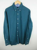 Tommy Hilfiger Mens Shirt Size L 16 1/2 Long Sleeve Button Up Regular Fit Oxford