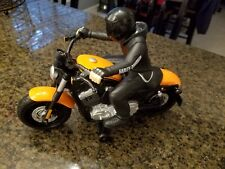 VINTAGE TYCO 6v 27 MHz RC MOTORCYCLE - HARLEY DAVIDSON JET TURBO GREAT CONDITION