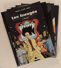 Enrages Simon LeSaec Chauvel serie complete 5 volumes Delcourt