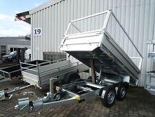 Saris PK Compact (PKC) 20 2000 kg Laubgitter - 270x150 PKW-Anhänger Alu Kipper