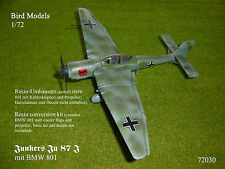 Junkers JU 87 J (con BMW 801) 1/72 Bird MODELS KIT misto/mixed conversion