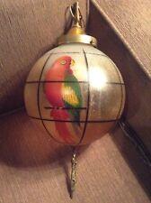 ANTIQUE HANDEL STYLE PARROT HANGING PENDANT LAMP SPANISH MISSION ERA