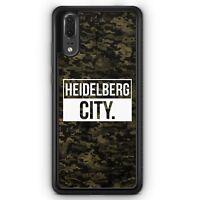 Huawei P20 SILIKON Hülle Heidelberg City Camouflage Motiv Design Deutschland Mi