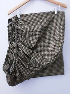 Ralph Lauren Edgefield Houndstooth Check Twin Fitted Sheet Vintage Italy