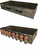 TEC Tc-7220 2-way Amp Amplifier / Speaker Selector Switch Switcher Splitter Combiner