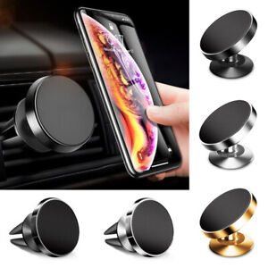 Universal 360° Magnetic Car Mount Holder Stand Dashboard Air Vent For Phone GPS