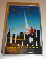Lunch The Studio Recording A Modern Musical Myth - Original Cast (Cassette 1994)