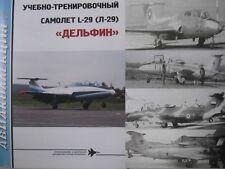 Czechoslovakian Jet Trainer Plane L-29 Delfín (Maya) AVK