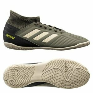 adidas Predator 19.3 Tango IN Indoor 2020 Soccer Shoes Kids Youth Tan Grey